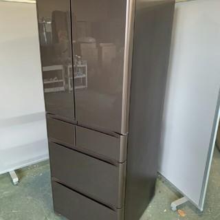日立 - 日立 R-XG56J-XH 冷蔵庫 グレイッシュブラウン