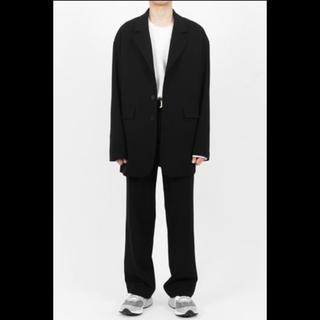 コムデギャルソン(COMME des GARCONS)のHI FI FNK セットアップ 黒 19ss 韓国ブランド 韓国ファッション(セットアップ)