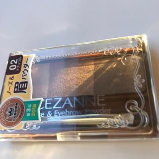 セザンヌケショウヒン(CEZANNE(セザンヌ化粧品))のセザンヌ ノーズ&アイブロウパウダー 02 ナチュラル(3g)(アイブロウペンシル)