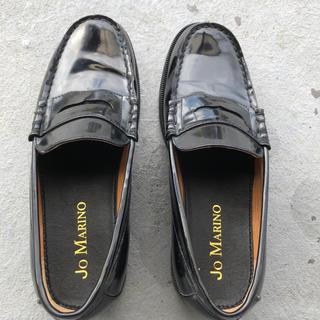 ハルタ(HARUTA)のローファー 黒 26cm(ローファー/革靴)