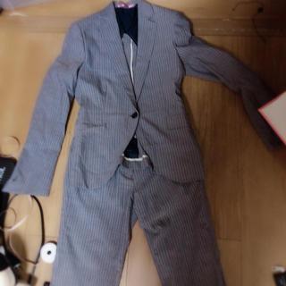 オリヒカ(ORIHICA)のORIHICA グレー ストライプ スーツ(スーツ)