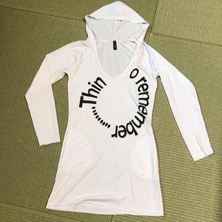 フード付 ロンTチュニック(Tシャツ(長袖/七分))