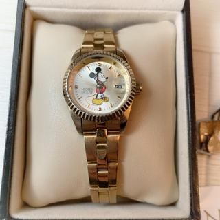 SALON - Salon ミッキー 腕時計 ゴールド
