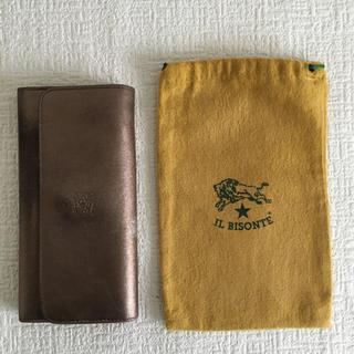 イルビゾンテ(IL BISONTE)のイルビゾンテ 長財布 ブロンズ(財布)