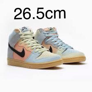 ナイキ(NIKE)の26.5 NIKE SB DUNK HIGH EASTER SPECTRUM(スニーカー)