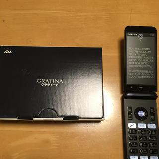 キョウセラ(京セラ)のOT様専用 京セラ ガラホ GRATINA  ブラック(携帯電話本体)