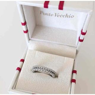 ポンテヴェキオ(PonteVecchio)のポンテヴェキオ ダイヤ プラチナ リング(リング(指輪))