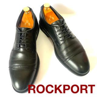 ロックポート(ROCKPORT)のROCKPORT ストレートチップ メンズ ブラック 26.0cm(ドレス/ビジネス)