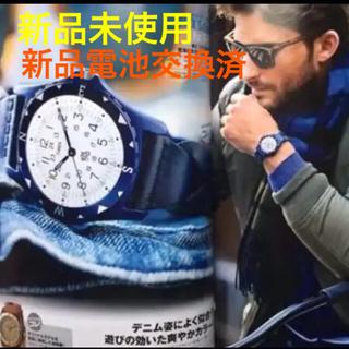 ロンハーマン(Ron Herman)の【新品未使用】Ron Herman TIMEX ネイビー  限定コラボモデル(腕時計(アナログ))