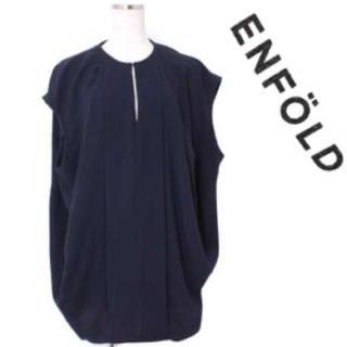 ENFOLD - enfold ノースリーブコクーンブラウス