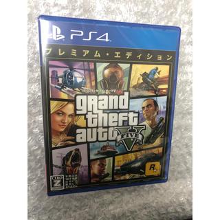プレイステーション4(PlayStation4)のグランドセフトオート5 新品未開封(家庭用ゲームソフト)