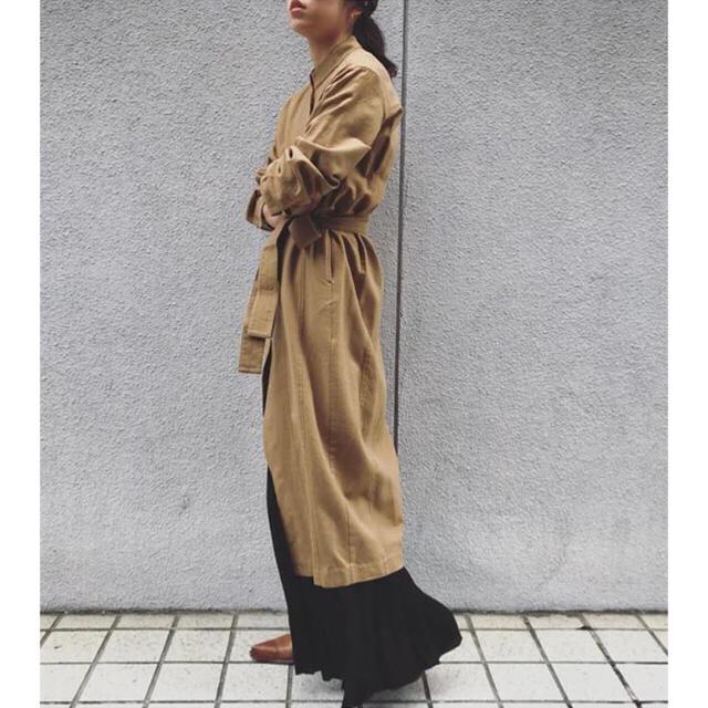 Fabiane Roux(ファビアンルー)のnowos コットンウール ガウン レディースのワンピース(ロングワンピース/マキシワンピース)の商品写真