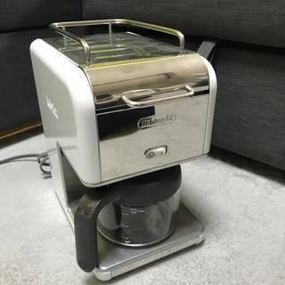 デロンギ(DeLonghi)のデロンギ コーヒーメーカー CMB6 ホワイト(コーヒーメーカー)