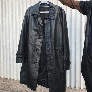 コムデギャルソンオムプリュス(COMME des GARCONS HOMME PLUS)のCOMMEdesGARCONS coat(レザージャケット)