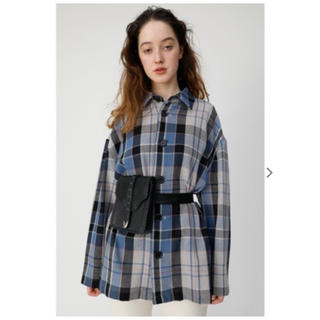 moussy - moussy OVER CHECK SHIRT ジャケット