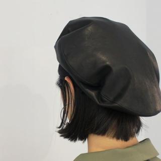 JUN MIKAMI ベレー帽(ハンチング/ベレー帽)