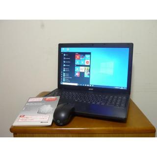 エイサー(Acer)の快適爆速新品SSD240G 高性能第3世代i5搭載 最新win10(ノートPC)