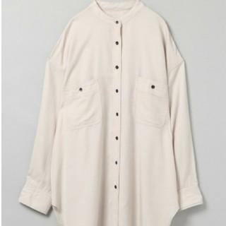 ジーナシス(JEANASIS)の今季完売 ジーナシス テンセルツイルバンドカラーシャツ(シャツ/ブラウス(長袖/七分))