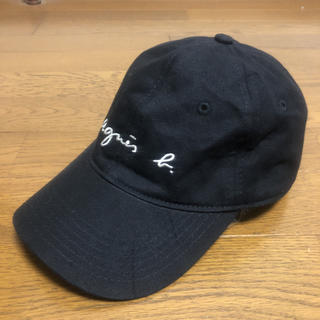 アニエスベー(agnes b.)の即決 アニエスベー キャップ 帽子 ブラック(キャップ)