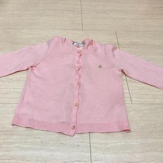 ボンポワン(Bonpoint)のキッズカーディガン☆18ヶ月〜2歳(カーディガン/ボレロ)