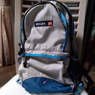ミレー(MILLET)のMILLETミレー☆リュック☆子供用☆ブルー&グレー(リュックサック)