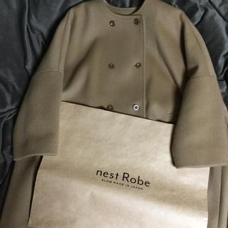 ネストローブ(nest Robe)のネストローブ コート(camel)今季完売品❤️(ロングコート)