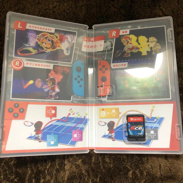Nintendo Switch(ニンテンドースイッチ)のマリオテニス エース Switch エンタメ/ホビーのゲームソフト/ゲーム機本体(家庭用ゲームソフト)の商品写真