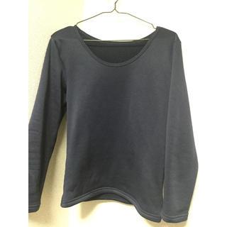 しまむら - しまむら ネイビー 内モコ Tシャツ