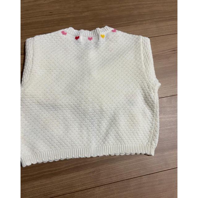 mikihouse(ミキハウス)のミキハウス カーディガン 80 キッズ/ベビー/マタニティのベビー服(~85cm)(カーディガン/ボレロ)の商品写真
