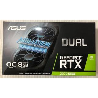 エイスース(ASUS)のゆず様専用 RTX 2070 SUPER 8G DUAL-RTX2070(PC周辺機器)