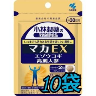 コバヤシセイヤク(小林製薬)の激安・即日配送 小林製薬 栄養補助食品 マカEX 30日分 60粒×10袋(その他)