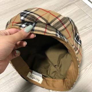 アズールバイマウジー(AZUL by moussy)の【新品・未使用】colony2139 チェックベレー(ハンチング/ベレー帽)