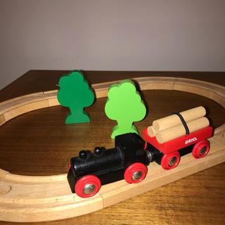 ブリオ(BRIO)のBRIO (ブリオ) 小さな森の基本レールセット(電車のおもちゃ/車)