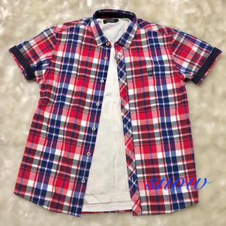 ブラックレーベルクレストブリッジ(BLACK LABEL CRESTBRIDGE)の《新品》ブラックレーベルクレストブリッジ  半袖シャツ(シャツ)