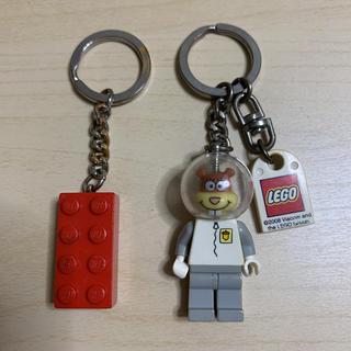 レゴ(Lego)の【スポンジボブ】レゴ LEGO キーホルダー(キーホルダー)