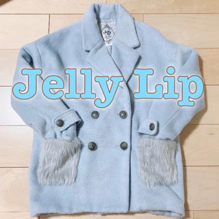 シマムラ(しまむら)の【冬物売り切りセール】 Jelly Lip ファーポケット付Pコート (ピーコート)