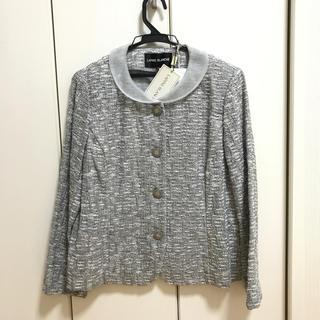 定価79800円‼️ラピーヌ ジャケット グレー   (ノーカラージャケット)