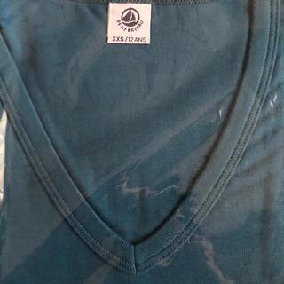 プチバトー(PETIT BATEAU)の新品未使用!プチバトー Tシャツ(半袖)ターコイズブルー(Tシャツ(半袖/袖なし))