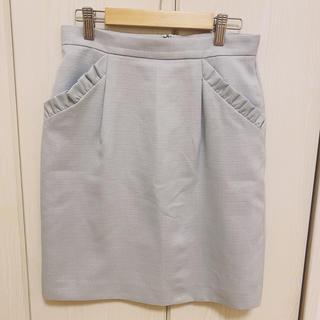 レッセパッセ(LAISSE PASSE)のレッセパッセ♡ミントグリーンスカート(ひざ丈スカート)