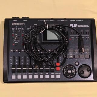 ズーム(Zoom)のZoom R8 オーディオインターフェース(オーディオインターフェイス)