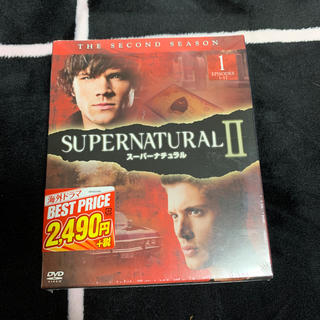 SUPERNATURAL II スーパーナチュラル〈セカンド〉セット1 DVD(TVドラマ)