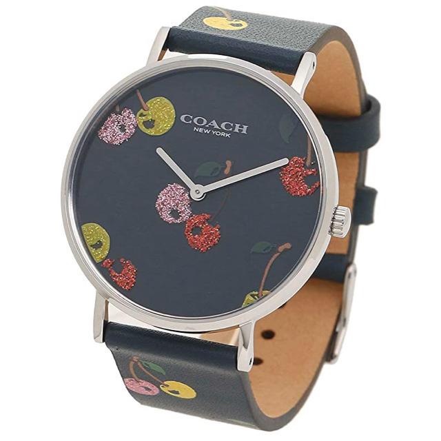 ロレックス 時計 人気 レディース | COACH - セール★タグ付き新品★COACH Perry 腕時計 ネイビーブルーの通販