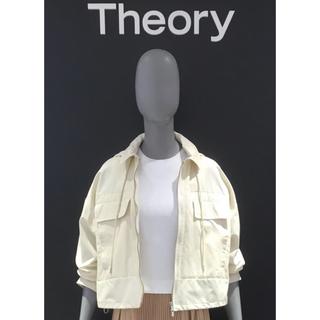 theory - 美品 人気 Theory セオリー パーカー ブルゾン スプリング ジャケット