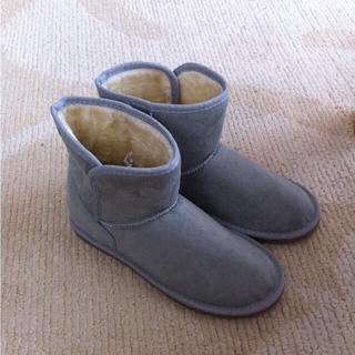 ムジルシリョウヒン(MUJI (無印良品))のムートンブーツ(ブーツ)