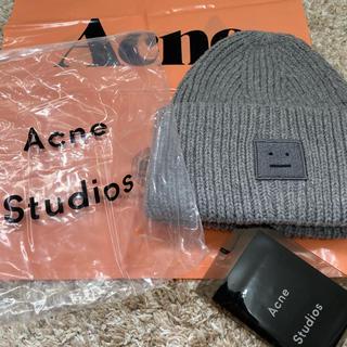アクネ(ACNE)のacne studious アグネストゥディオズ ニット帽(ニット帽/ビーニー)