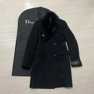 ディオールオム(DIOR HOMME)のDior Homme AW18 ATELIER ファーコート(チェスターコート)
