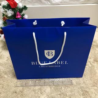 バーバリーブルーレーベル(BURBERRY BLUE LABEL)の バーバリー ブルーレーベル ショッパー(ショップ袋)