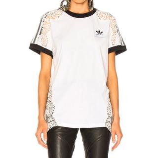 ステラマッカートニー(Stella McCartney)のステラマッカートニー  × アディダス レースTシャツ(Tシャツ(半袖/袖なし))