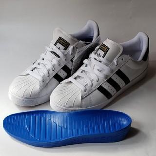 アディダス(adidas)の新品未使用adidasオリジナルスケートボード専用スーパースター25・5cm(スケートボード)