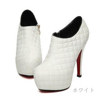 25.5~26cm シンプルブーツ☆(ブーツ)